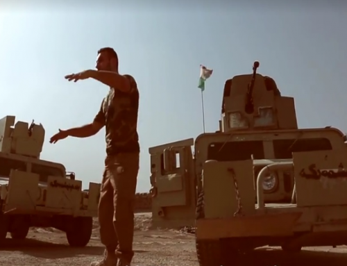 Dansk-kurder indspiller video for Peshmerga