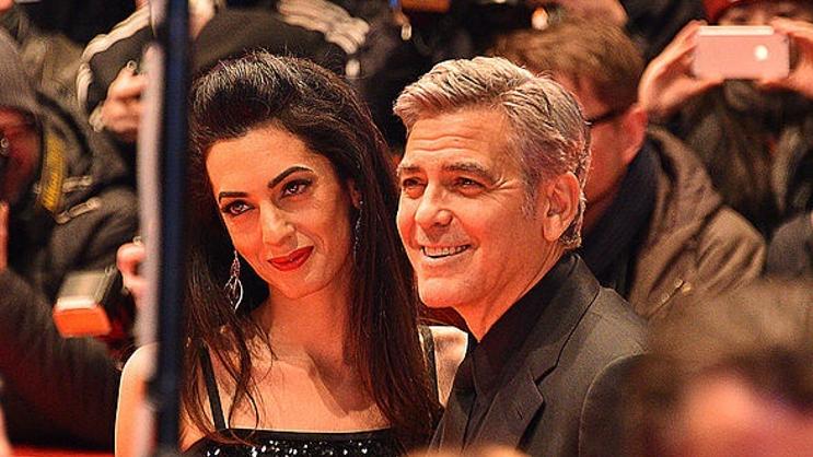 George og Amal Clooney åbner deres hjem for ezidi-flygtning