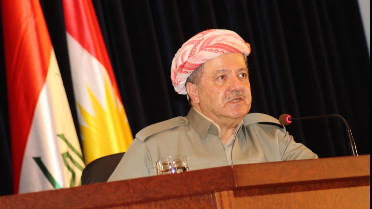 Masoud Barzani's tale