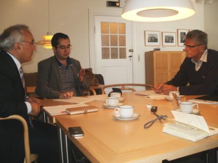 Christiansborg: Mogens Lykketoft & Öztürk Türkdogan
