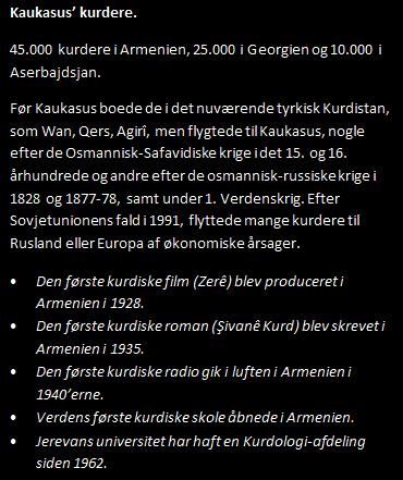 KAUKASUS KURDERE