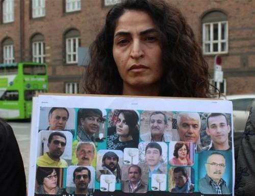 Danske kurdere demonstrerede mod Iran