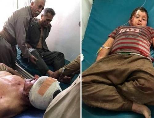 Iran bomber PDKI og PDK