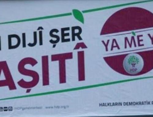 Tyrkiet forbyder kurdisk valgplakat