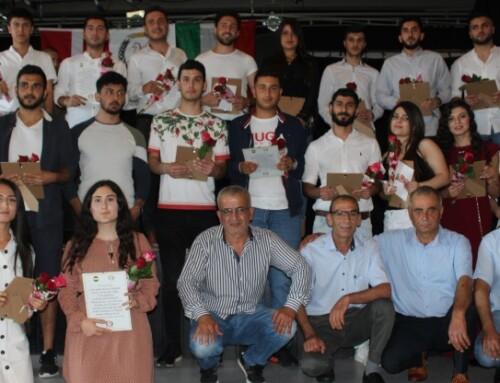 22 şagirtên Kurd hatin pîroz kirin