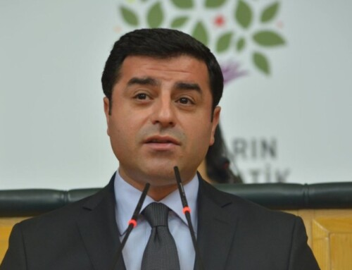 Demirtaş modtager international pris