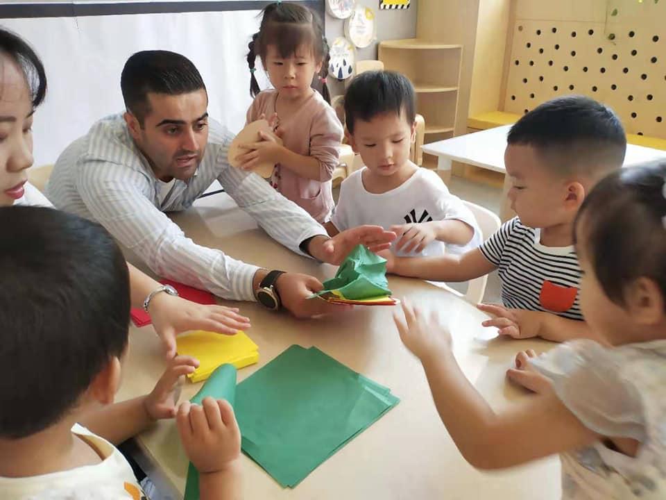 Mokhtar i den kinesiske børnehave