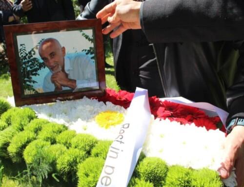 Mustafa Hassan Gawra begravet