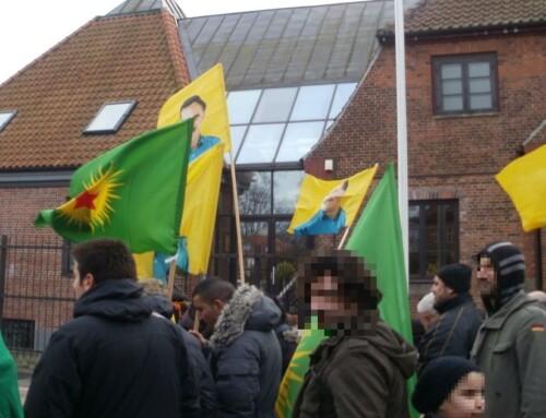 Kurdisk protest endte i vold