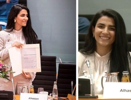 Kurdisk kvinde fra Qamishlo vinder stor Integrationspris i Tyskland