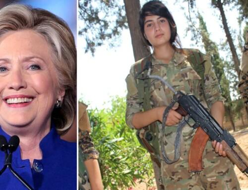 Clinton vil lave tv-serie om Rojavas krigerkvinder