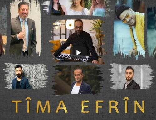 Dansk-kurder laver video for Efrîns fodboldhold