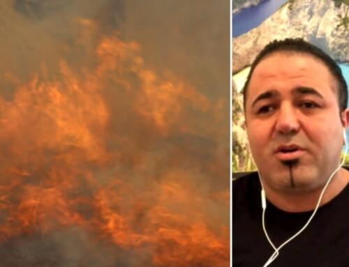 Kurdisk flygtning reddede fem personer ud af flammehav