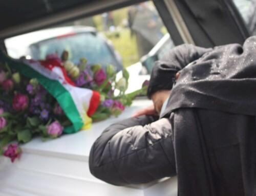 Død af corona: Peshmerga-veteran stedt til hvile