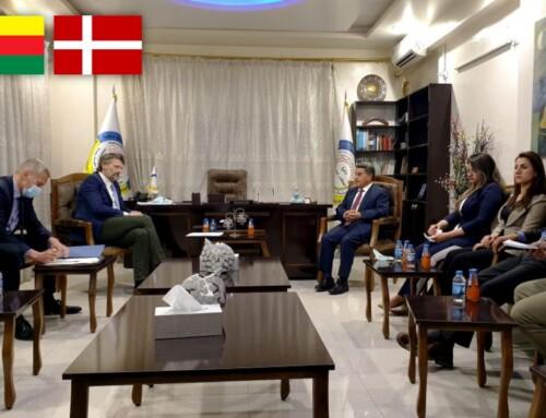 Dansk delegation har besøgt Rojava
