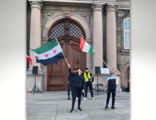 Syrer: Kurdere bør deltage i sit-in-protester