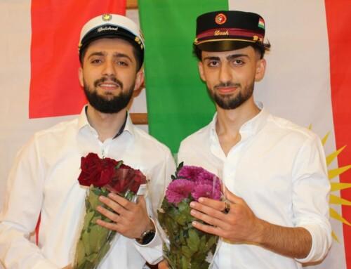 To kurdiske brødre blev studenter