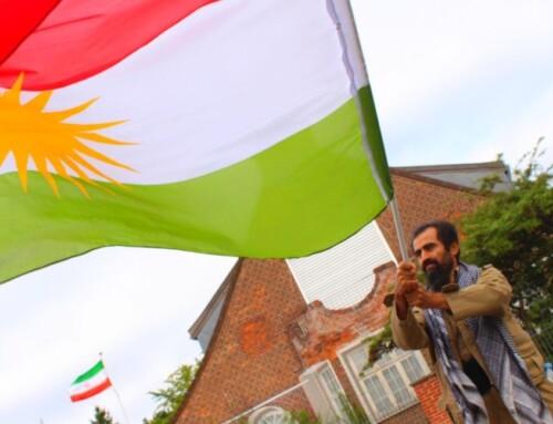 Kurdisk demonstration mod Iran