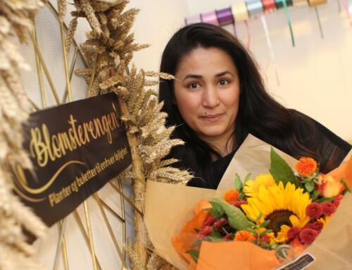 Sønnens død inspirerede hende til at blive blomsterhandler