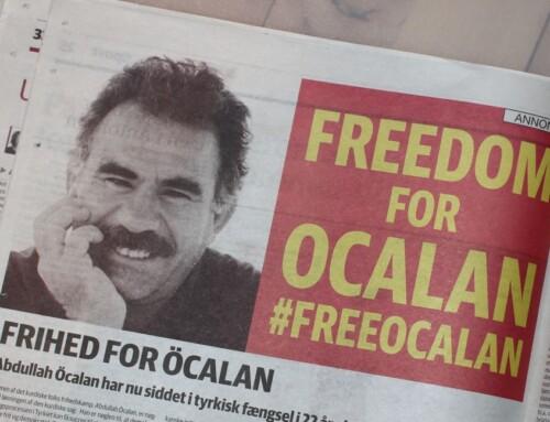 Öcalan-annonce i Jyllands-Posten